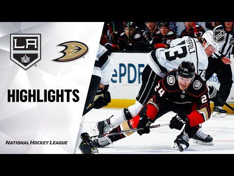 NHL Highlights | Kings @ Ducks 12/02/19