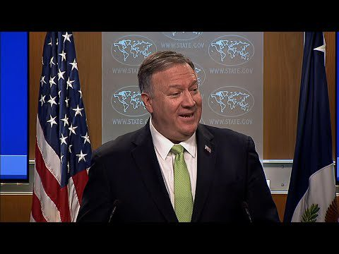 AP: Pompeo rebuts Lavrov claim of no WH election talks