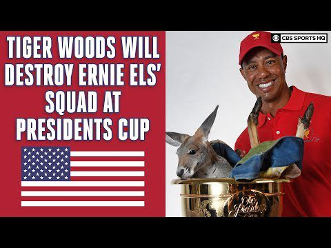 Tiger Woods, USA WILL DOMINATE 2019 Presidents Cup; Preview and Gambling Picks | CBS Sports HQ