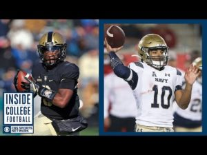 Army at #23 Navy Preview   Inside College Football