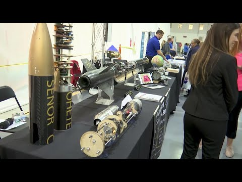 AP: Core stage of rocket for moon mission complete