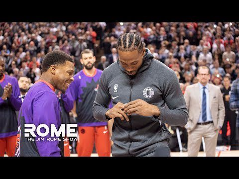 Kawhi Leonard Showered With Love In Toronto | The Jim Rome Show