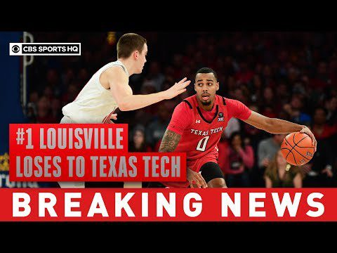 #1 Louisville goes down, lose for the first time this season to unranked Texas Tech   CBS Sports HQ