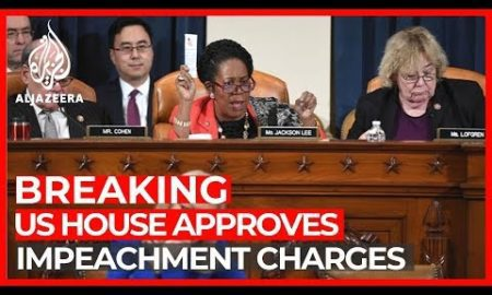 World News: Trump impeachment: Committee sends charges to full House for vote