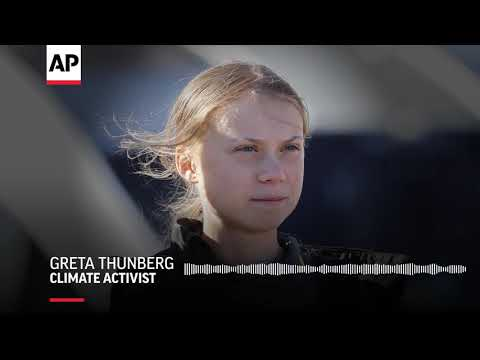 "AP: Thunberg: ""I could never have imagined anything like that happening"""