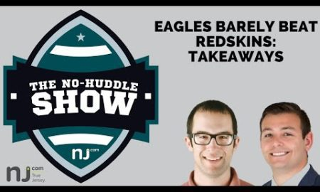 NJ.com Report: Eagles barely beat Redskins, and Miles Sanders is a stud: Takeaways