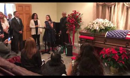 NJ.com Report: Daughter of slain Jersey City deli worker pays respects at her father's memorial