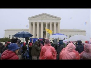 AP: Justices weigh dismissal of case over NYC gun law