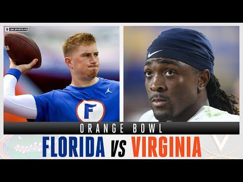 Orange Bowl Expert Picks: #9 Florida Gators vs #24 Virginia Cavaliers | CBS Sports HQ