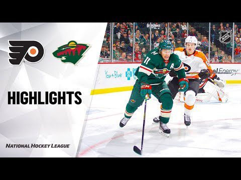 NHL Highlights | Flyers @ Wild 12/14/19