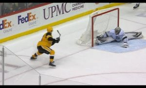 Quick makes series of ridiculous saves to rob Penguins in OT