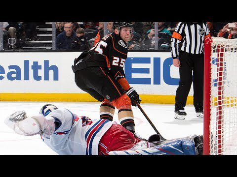 Ducks, Rangers finish in a shootout