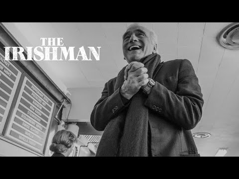 Entertainment: The Irishman | Martin Scorsese Directing | Netflix
