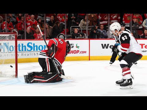 Coyotes and Blackhawks settle for a Sunday shootout