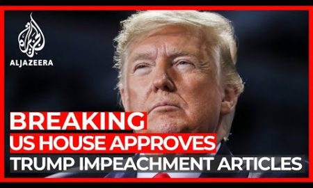 World News: US House votes to impeach Trump for abuse of power, obstruction