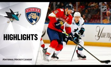 NHL Highlights | Sharks vs. Panthers 12/08/19