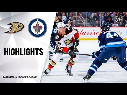 NHL Highlights | Ducks @ Jets 12/08/19