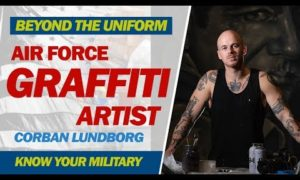 Air Force Graffiti Artist