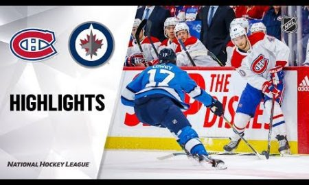 NHL Highlights | Canadiens @ Jets 12/23/19