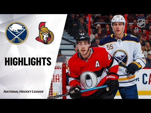 NHL Highlights | Sabres @ Senators 12/23/19