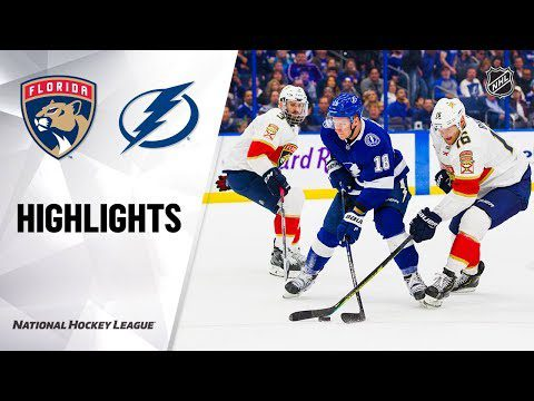 NHL Highlights | Panthers @ Lightning 12/23/19