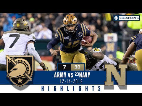 ARMY vs NAVY 2019 Highlights: Malcolm Perry has a historic performance to snap streak | CBS Sports