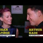 Megan Rapinoe, Shaq, and Noah Schnapp join NHL Celebrity Wrap to discuss admiration for NHL