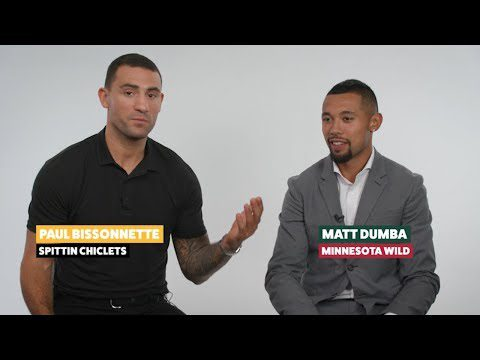 Fun with Biz: Matt Dumba reflects on Mikael Granlund's wedding