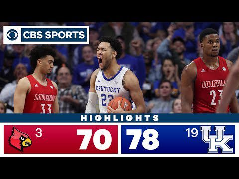 Louisville vs Kentucky Highlights: #19 Wildcats outlast #3 Cardinals for OT victory | CBS Sports