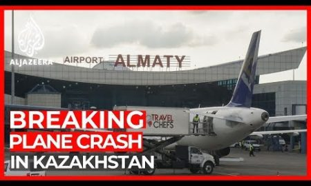 World News: Kazakhstan plane crash: 100 people on board