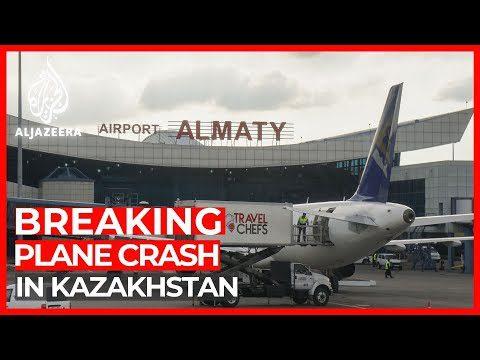 World News: Kazakhstan plane crash: 100 people on board