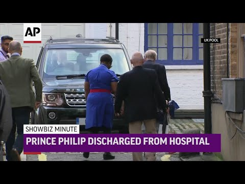 AP: ShowBiz Minute:  Prince Philip, Duff, Christmas