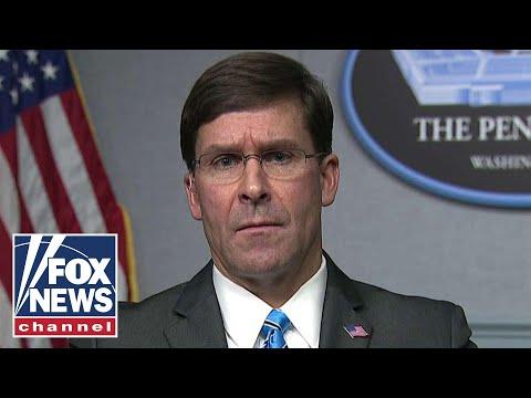 Fox News Report: Esper: Iran will face 'severe response' if U.S. is challenged
