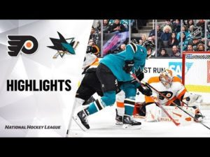 NHL Highlights | Flyers @ Sharks 12/28/19