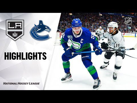 NHL Highlights | Kings @ Canucks 12/28/19