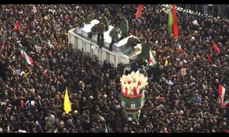 AP: Crowds in Tehran mourn slain General Soleimani