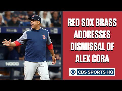 "Press Conference: Red Sox address ""mutually parting ways"" with manager Alex Cora 