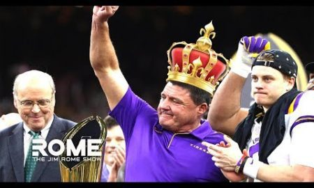 Ed Orgreon Is The King Of New Orleans After LSU National Championship | The Jim Rome Show