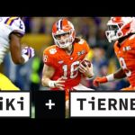 Trevor Lawrence shows inconsistency in Clemson's CFP loss to LSU | Tiki + Tierney