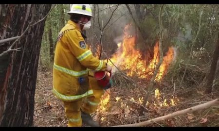 AP: Volunteer firefighters ward off Australia's blazes