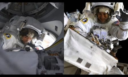 NASA Astronauts Spacewalk Outside the International Space Station on Jan. 15, 2020
