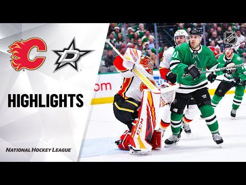 NHL Highlights | Flames @ Stars 12/22/19
