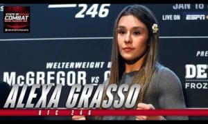 UFC 246: Alexa Grasso is ready for her closeup against Claudia Gadelha | State of Combat