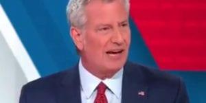 Bill DeBlasio, Mayor New York City.
