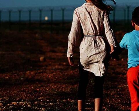 Stock Photo: Children at Border